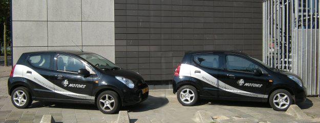 vervangende auto