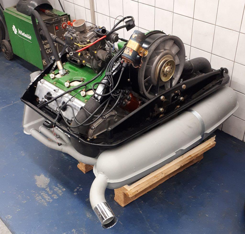 gereviseerde porsche motor
